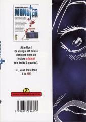 Verso de Monster (Urasawa) -13- Évasion