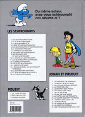 Verso de Les schtroumpfs -3c03- La Schtroumpfette
