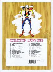 Verso de Lucky Luke -25d03- La ville fantôme