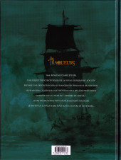 Verso de Les traqueurs -2- L'Héritage de sang