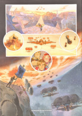 Verso de Le château des étoiles -12- Les Fils de l'étoile bleue