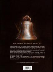 Verso de Les maîtres Saintiers -4- Une Vie pour une Vie - 1917