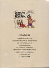 Verso de Iznogoud -7b74- Une carotte pour Iznogoud