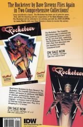 Verso de Rocketeer Adventures (2011) -4- Rocketeer Adventures #4