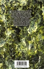 Verso de Dr. Stone -2- Les Deux Nations du monde de pierre
