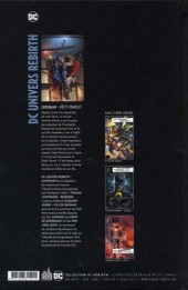 Verso de DC Univers Rebirth -2- DC Univers Rebirth : Superman
