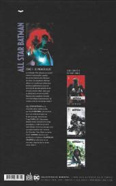 Verso de All Star Batman -3- Le Premier Allié