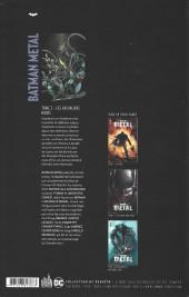 Verso de Batman Metal -2- Les Chevaliers noirs