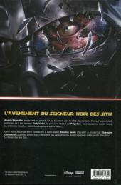 Verso de Star Wars - Dark Vador : Le Seigneur noir des Sith -1- L'Élu