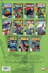 Verso de Hulk (L'intégrale) -2a18- Hulk : l'intégrale 1987-1988