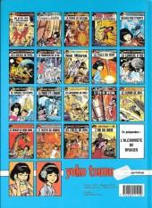 Verso de Yoko Tsuno -11Fête- La Spirale du temps