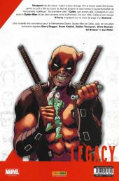 Verso de Marvel Legacy - Deadpool (Marvel France - 2018) -1- Deadpool tue Cable