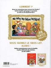 Verso de Les tuche -2- Des frites ! Des frites ! Des frites !