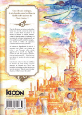 Verso de Beyond the Clouds - La Fillette tombée du ciel -1- Tome 1