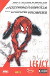 Verso de Marvel Legacy - Spider-Man (Marvel France - 2018) -1TL01- La chute de PARKER