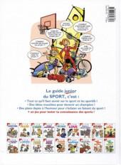 Verso de Les guides Junior -20- Le sport