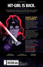 Verso de Hit-Girl (2018) -INT- Hit-Girl in Colombia