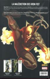 Verso de Iron Fist (100% Marvel - 2008) -INT3- L'évasion de la huitième cité
