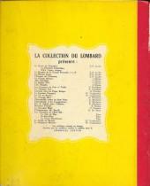 Verso de Chick Bill (collection du Lombard) -8- La grotte mystérieuse