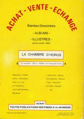 Verso de (DOC) BDM -1- Guide de la BD 1979