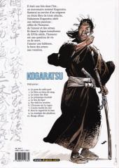 Verso de Kogaratsu -4b03- Le dos du tigre