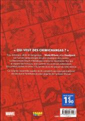 Verso de Super Heroes Collection -4- Deadpool