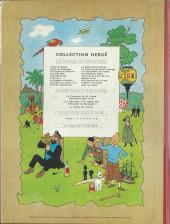 Verso de Tintin (Historique) -11B26- Le Secret de la Licorne