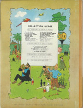 Verso de Tintin (Historique) -15B26- Tintin au pays de l'or noir