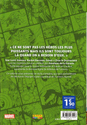 Verso de Super Heroes Collection -7- Les gardiens de la galaxie