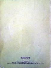 Verso de Inspecteur Gadget (1re série - Greantori) -2- La Malédiction du roi Toutankharton