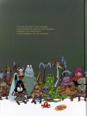 Verso de Donjon Parade -1HC2005- Un donjon de trop
