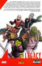 Verso de Marvel Legacy - Marvel Epics (Marvel France - 2018) -1- Thanos Gagne