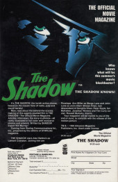 Verso de Shadow: In the Coils of Leviathan (The) (1993) -4- The Shadow: In the Coils of Leviathan #4
