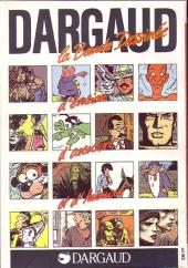 Verso de (DOC) BDM -5- Trésors de la Bande Dessinée 1985-1986
