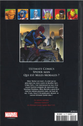 Verso de Marvel Comics - La collection (Hachette) -11474- Ultimate Comics Spider Man - Qui est Miles Morales ?