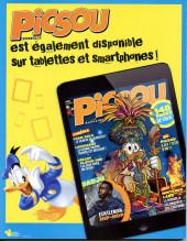 Verso de Picsou Magazine -537- Picsou et les mystères de l'Atlantide !