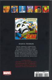 Verso de Marvel Comics - La collection (Hachette) -115XVIII- Marvel Horror