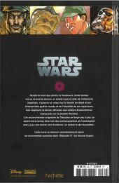 Verso de Star Wars - Légendes - La Collection (Hachette) -6947- Rébellion - I. Jusqu'Au Dernier