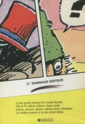 Verso de (DOC) BDM -7- Trésors de la Bande Dessinée 1989-1990