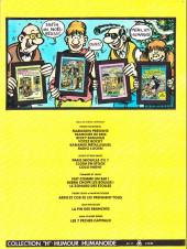 Verso de Frank Margerin présente - Tome 1b1983