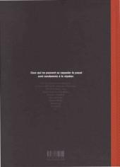 Verso de Les méchants de l'histoire -1- Dracula