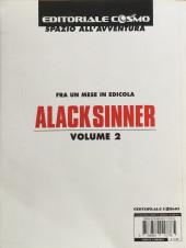 Verso de Grandi Maestri (I) (en italien) -7- Alack Sinner, L'età de l'innocenza