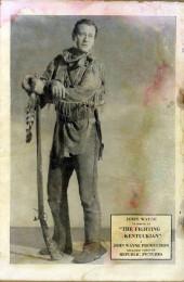 Verso de John Wayne Adventure Comics (1949) -1- (sans titre)