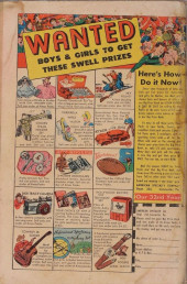 Verso de John Wayne Adventure Comics (1949) -6- Cavern of Doom !