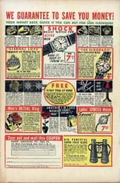 Verso de John Wayne Adventure Comics (1949) -8- Duel of Death