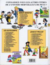 Verso de Benoît Brisefer -10Fan2002- La route du Sud