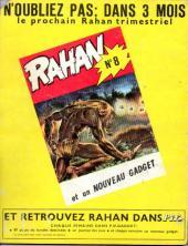 Verso de Rahan (1e Série - Vaillant) -7- La flèche blanche/Le coutelas d'ivoire