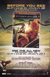 Verso de Free Comic Book Day 2007 - Spider-Man: Swing Shift