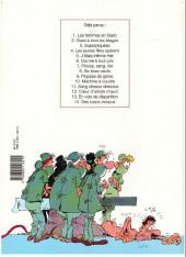 Verso de Les femmes en Blanc -8b1996- Six foies neufs