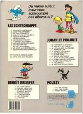 Verso de Benoît Brisefer -4b84- Tonton Placide